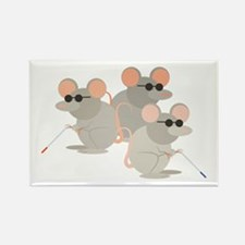Three Blind Mice Magnets