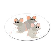 Three Blind Mice Wall Decal