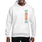 Suriname Stamp Hooded Sweatshirt