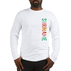 Suriname Stamp Long Sleeve T-Shirt