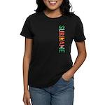 Suriname Stamp Women's Dark T-Shirt