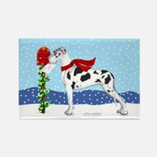 Great Dane Harle UC Mail Rectangle Magnet