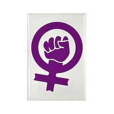 Feminist Power Rectangle Magnet