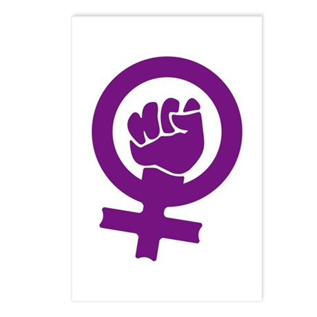 Feminist Power Postcards (Package of 8)
