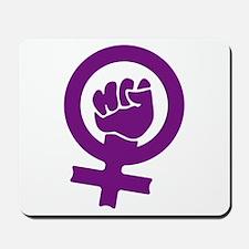 Feminist Power Mousepad