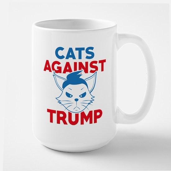 Cats Against Trump Large Mug