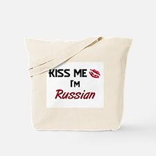 Kiss me I'm Russian Tote Bag