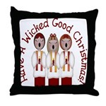 A Wicked Good Christmas! Throw Pillow