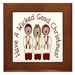 A Wicked Good Christmas! Framed Tile