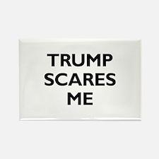 Trump Scares Me Rectangle Magnet