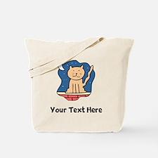 Cat At Night (Custom) Tote Bag