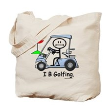 I B Golfing Tote Bag