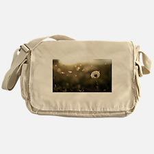 Dandelion Wish Messenger Bag
