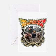 Hi tech Redneck for the count Greeting Cards (Pk o