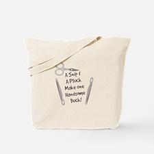 Snip & Pluck Tote Bag