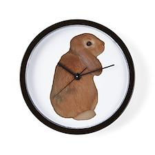 """Bunny 8"" Wall Clock"