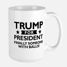 Trump For President Large Mug