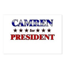 CAMREN for president Postcards (Package of 8)