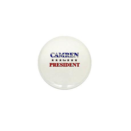 CAMREN for president Mini Button