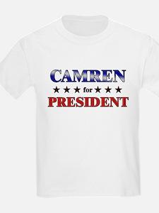CAMREN for president T-Shirt