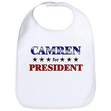 CAMREN for president Bib