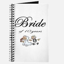 10th Wedding Anniversary Gifts Journal