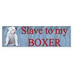 Slave Bumper Sticker