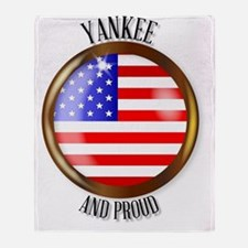 Cool Yankee Throw Blanket