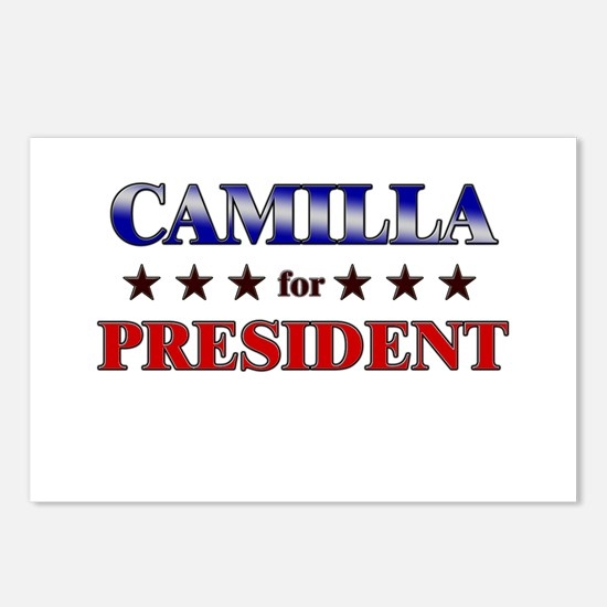 CAMILLA for president Postcards (Package of 8)