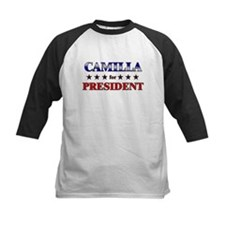 CAMILLA for president Tee