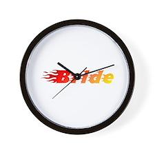 Bride - Blazed Wall Clock