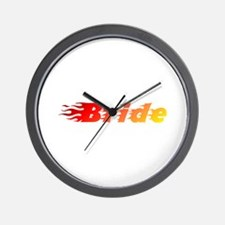 Bride - Blazed Wall Clock
