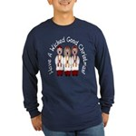 A Wicked Good Christmas! Long Sleeve Dark T-Shirt
