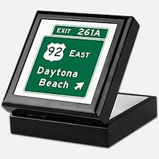 Daytona Beach, FL Keepsake Box
