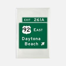 Daytona Beach, FL Rectangle Magnet