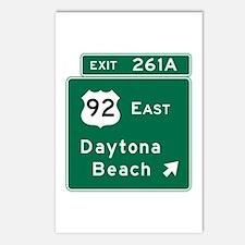 Daytona Beach, FL Postcards (Package of 8)