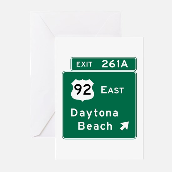 Daytona Beach, FL Greeting Cards (Pk of 10)