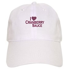 I Love Cranberry Sauce Baseball Cap