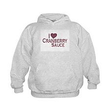 I Love Cranberry Sauce Hoodie