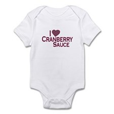 I Love Cranberry Sauce Infant Bodysuit