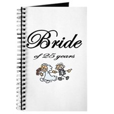 25th Wedding Anniversary Gifts Journal