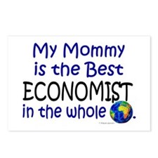 Best Economist In The World (Mommy) Postcards (Pac