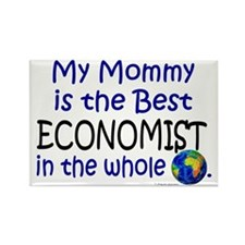 Best Economist In The World (Mommy) Rectangle Magn