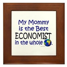 Best Economist In The World (Mommy) Framed Tile