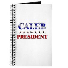 CALEB for president Journal