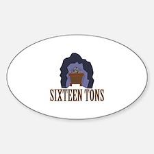 Sixteen Tons Decal
