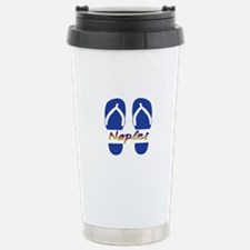 Naples Florida Stainless Steel Travel Mug
