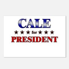 CALE for president Postcards (Package of 8)