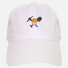 Miner Skull Baseball Baseball Baseball Cap