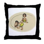 Creating the Circle Throw Pillow